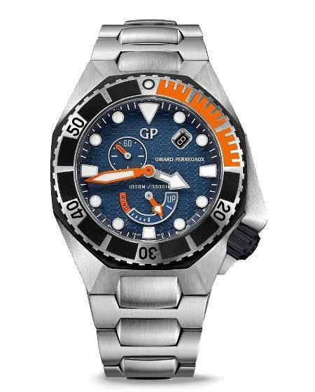 Orologio Girard-Perregaux Sea Hawk Blu #25250