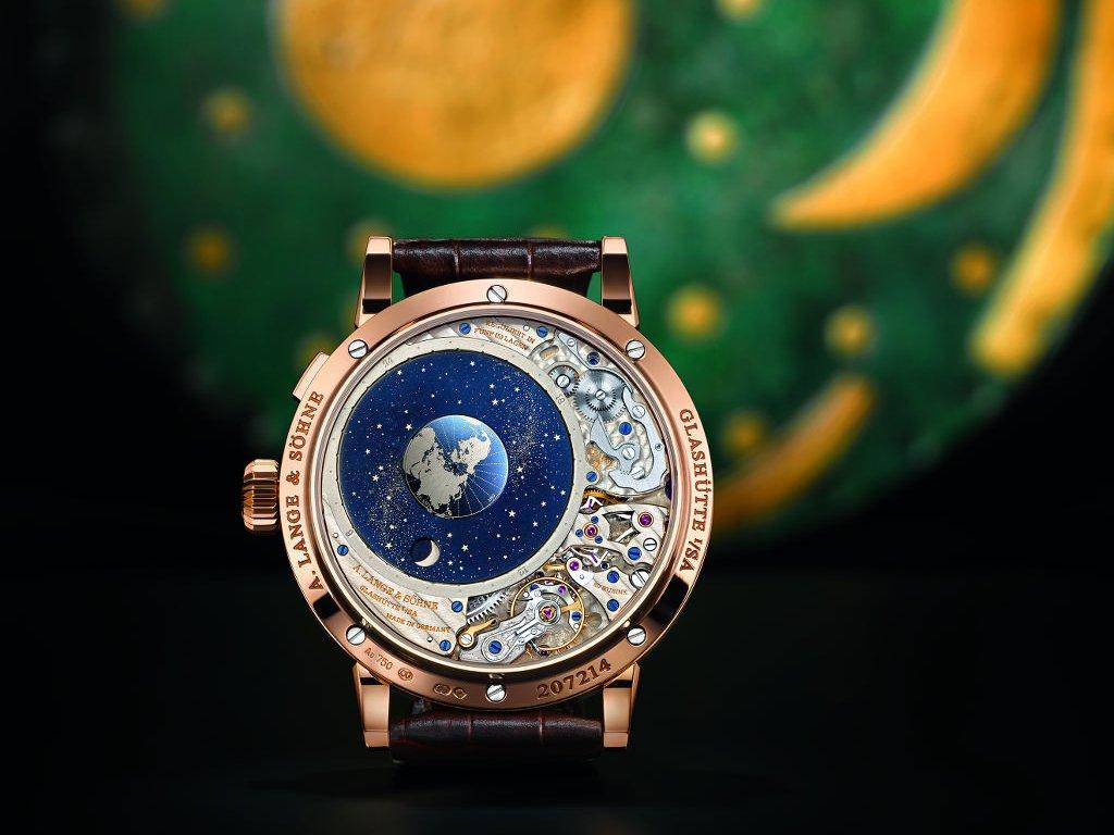 orologio con universo
