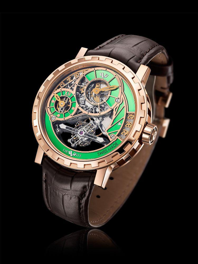Academia Grand Tourbillon quadrante verde