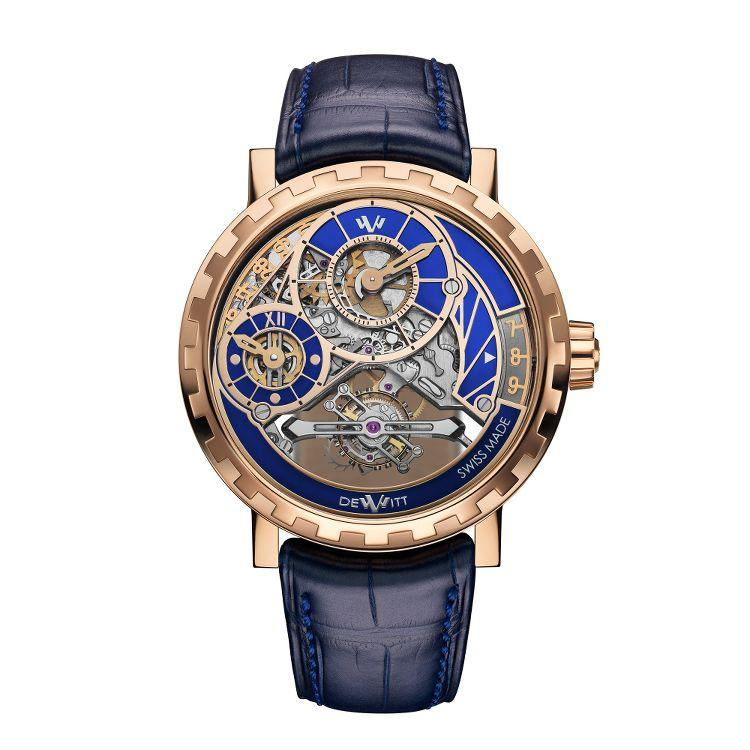 Academia Grand Tourbillon Blue fronte
