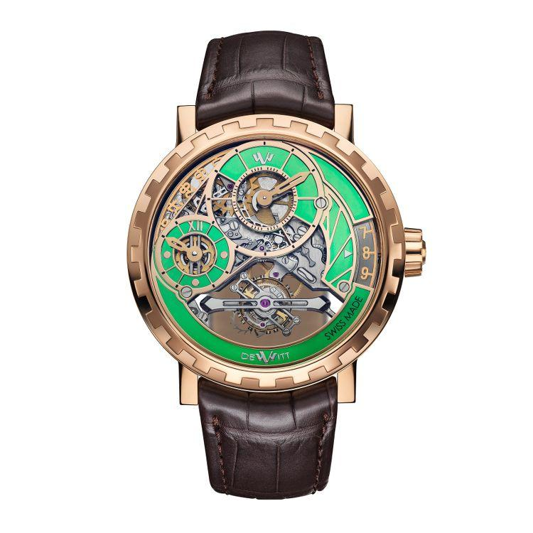 Academia Grand Tourbillon Green fronte