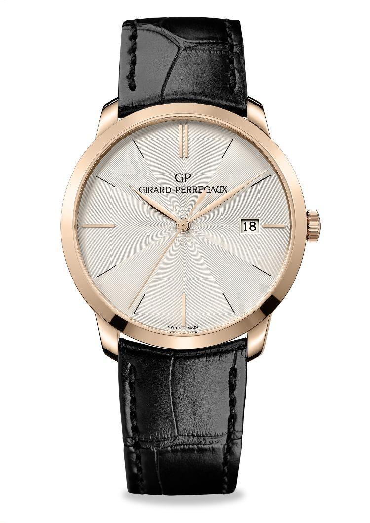 orologio 1966 quadrante guillochè per uomo