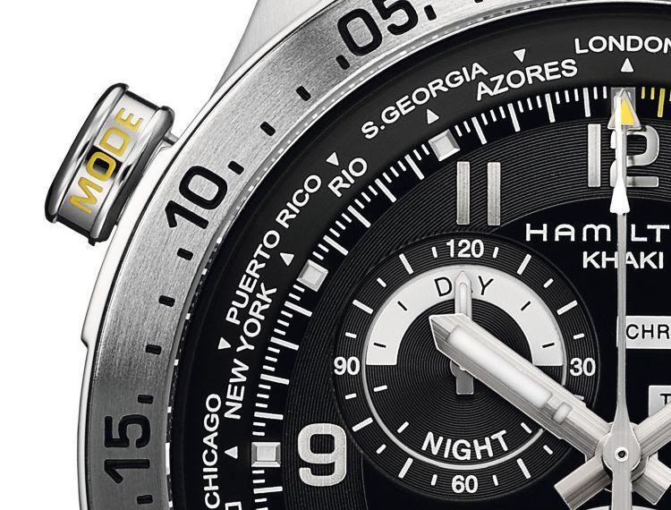 dettaglio cronografo - pulsante