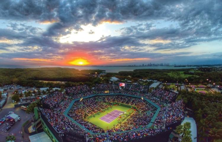 vista Miami Open 2015 cronometrato da orologi Rado