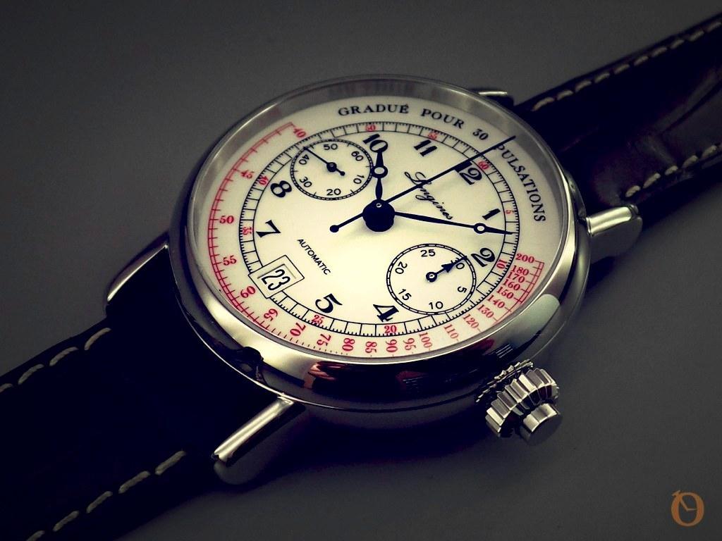 foto Pulsometer Chronograph 2015 con effetto vintage