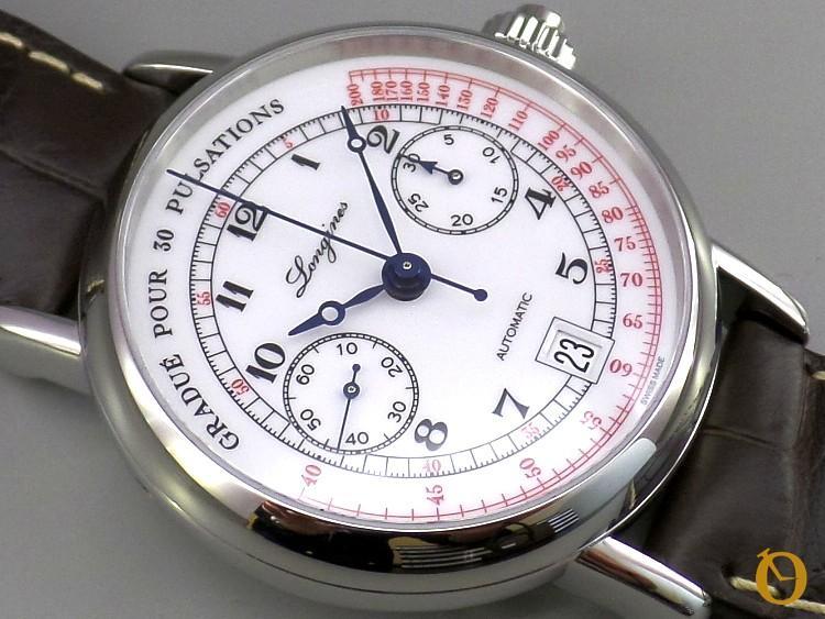 Pulsometer Chronograph - il quadrante laccato