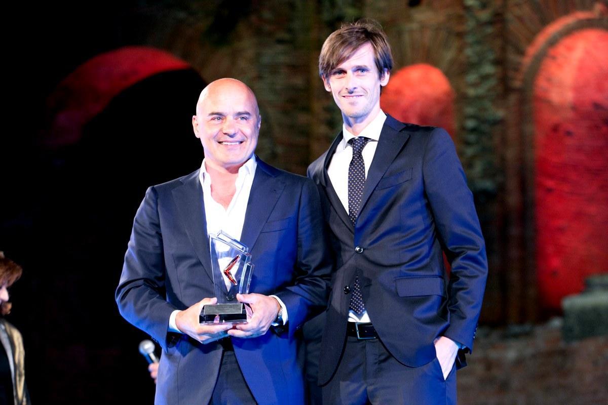 Zingaretti e Sovera ai Nastri d'Argento 2015
