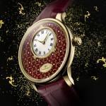 Jaquet Droz Petite Heure Minute Paillonnée Only Watch 2015