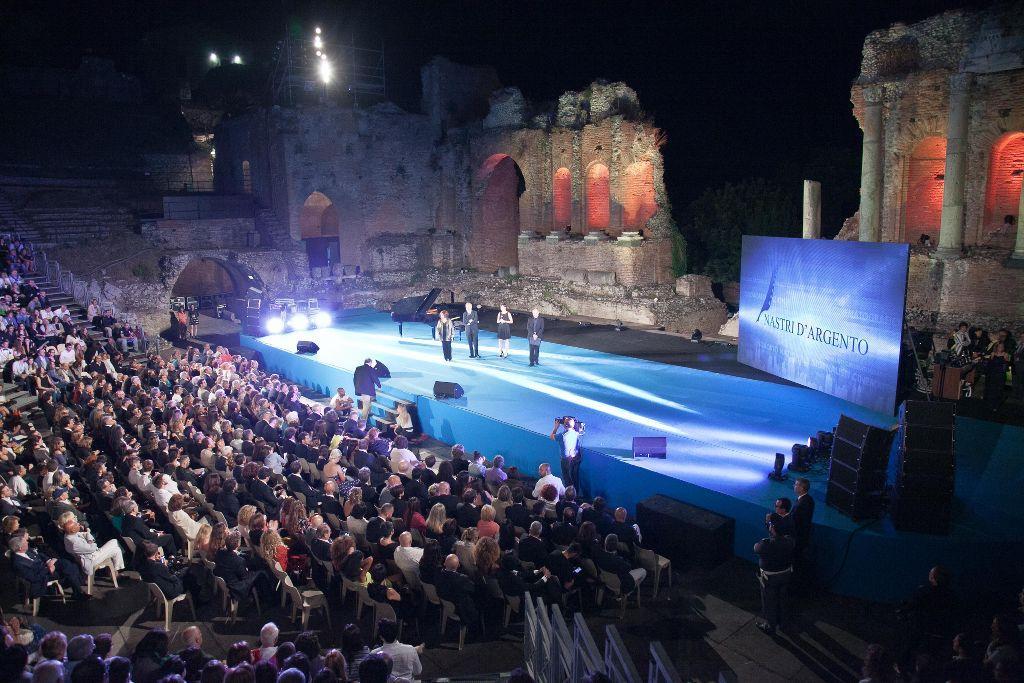 panoramica palco Teatro Antico