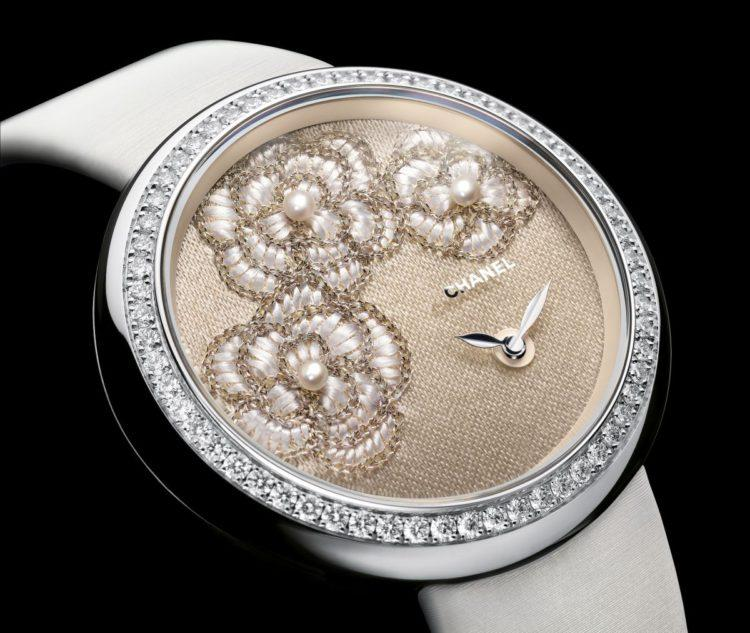 foto quadrante Chanel Mademoiselle Privè per Only Watch 2015