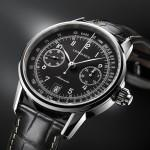 Cronografo The Longines Column-Wheel Single Push-Piece Chronograph