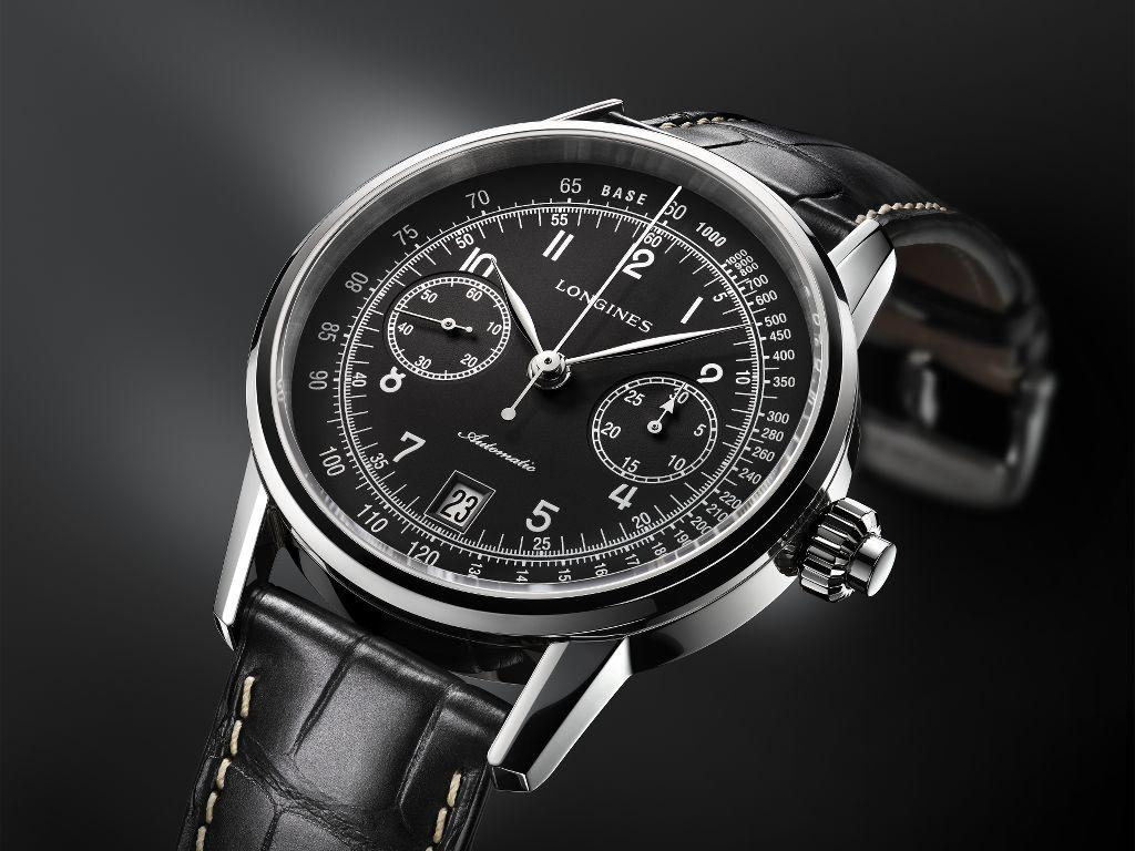The Orologi Longines 1970 Replica OrologiColumn-Wheel Single Push-Piece Chronograph