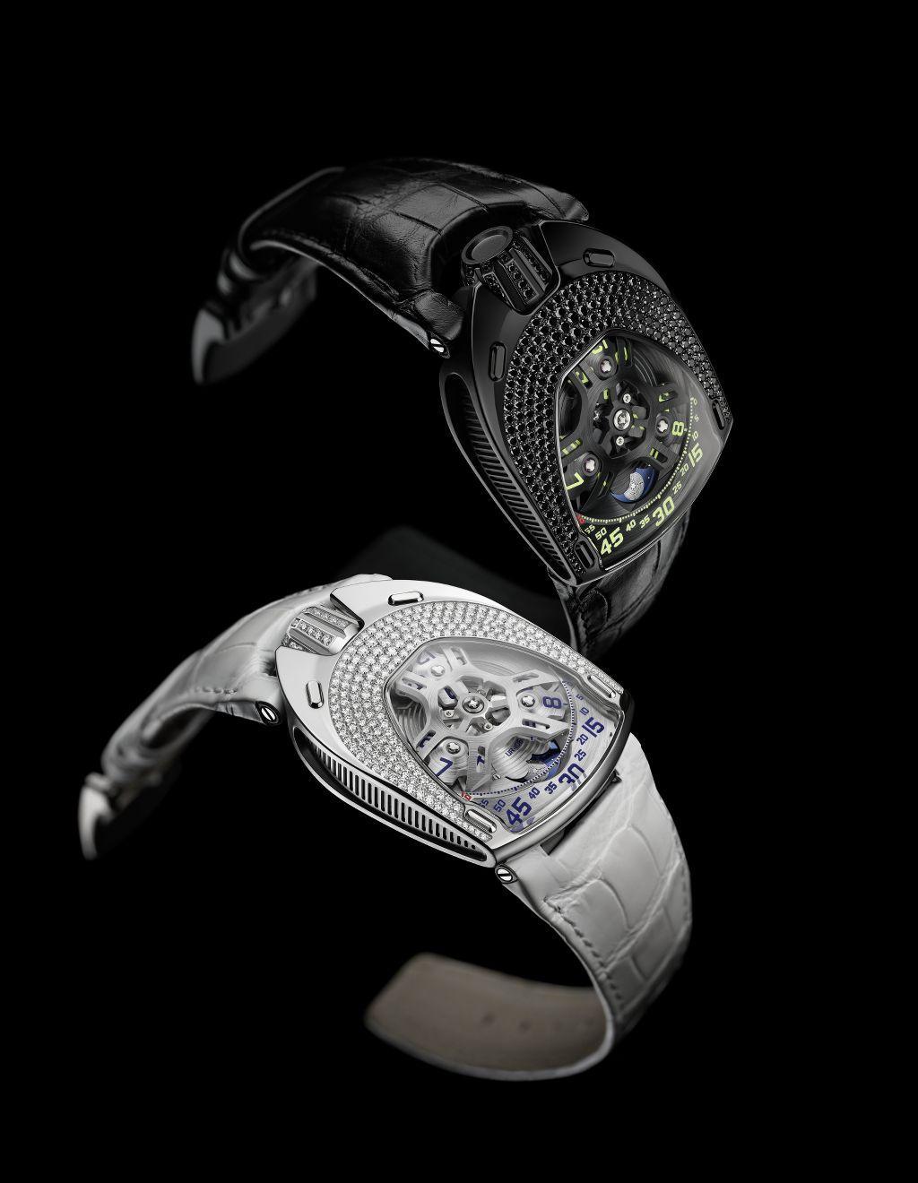 9e330a9ef92d Urwerk presenta UR-106 Lotus Il primo orologio donna del brand ...