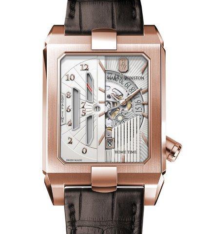Orologio Harry Winston Avenue Dual Time Automatic #31528