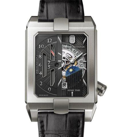Orologio Harry Winston Avenue Dual Time Automatic #31530