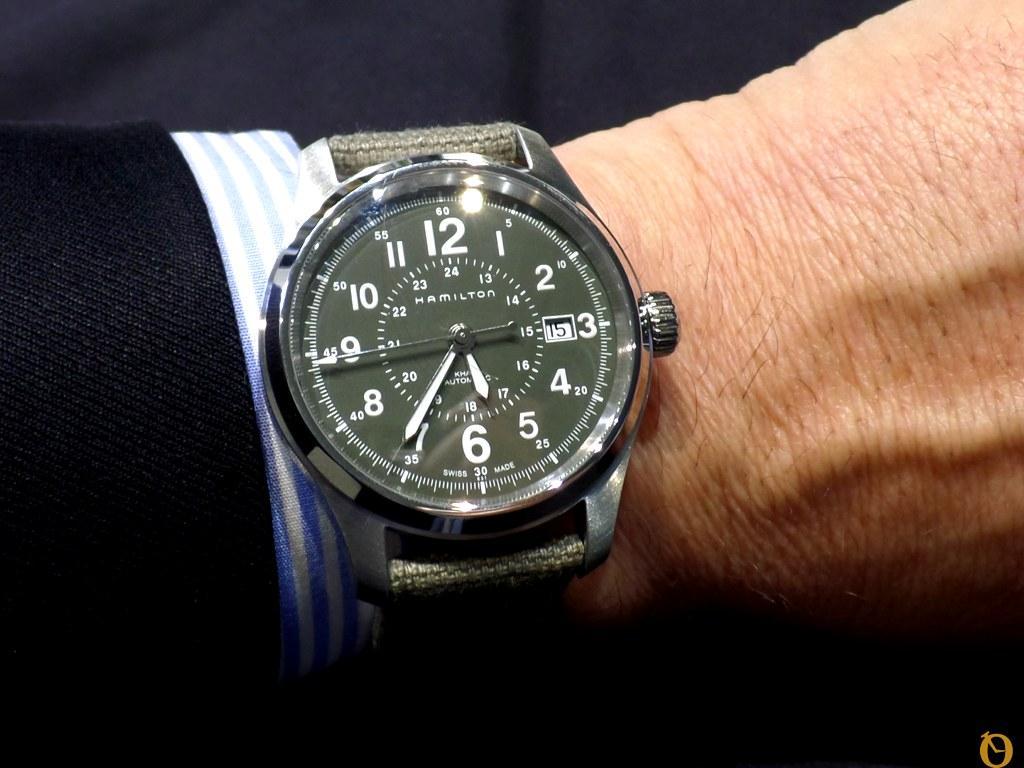 orologio Hamilton Khaki Field Auto 2015