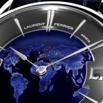 SIHH 2016: Laurent Ferrier Galet Traveller Globe Night Blue