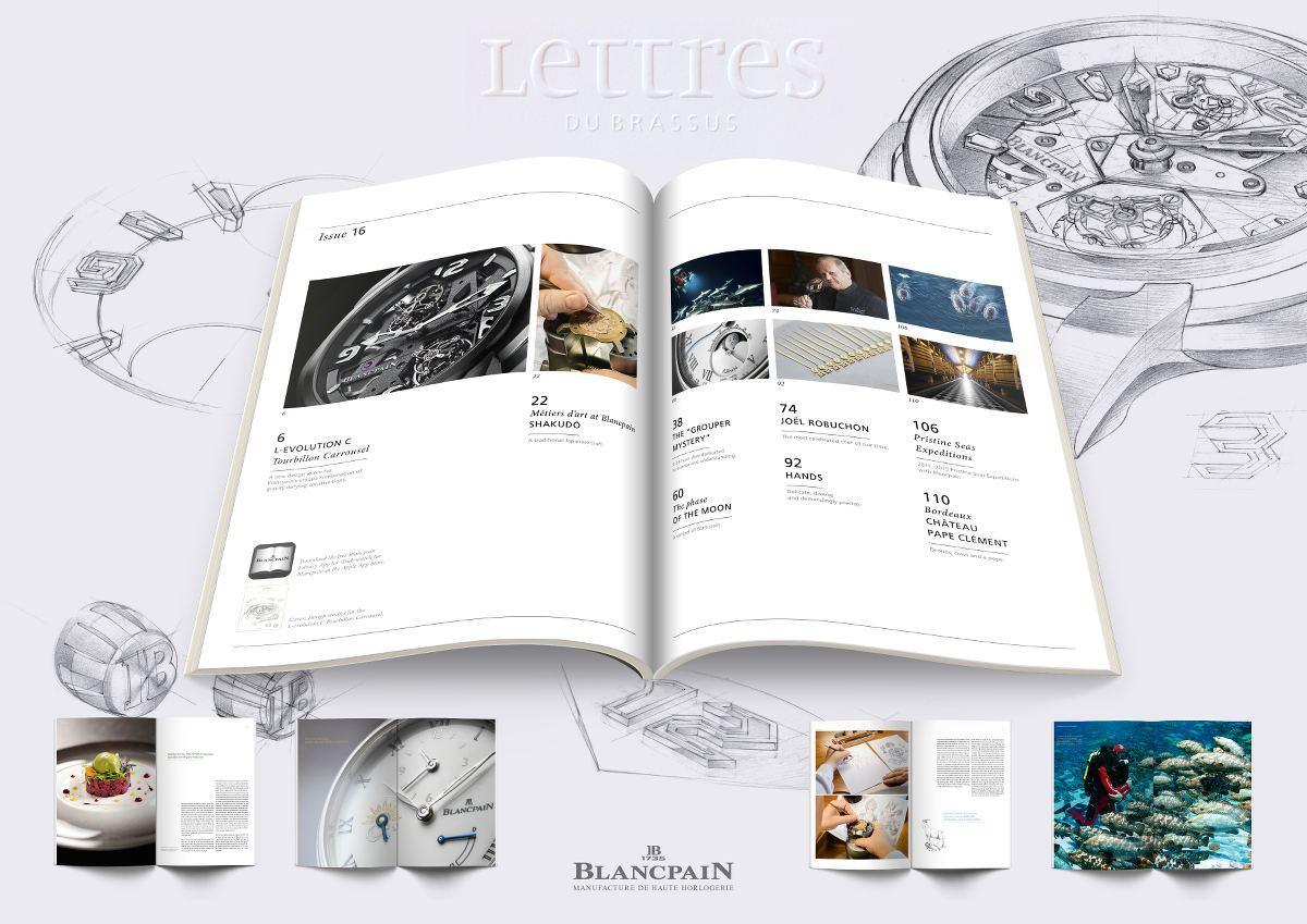 Blancpain Rilascia La 16° Edizione di Lettres du Brassus