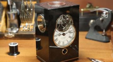 Anton Sukhanov Clock With Triple Axis Tourbillon (VIDEO)