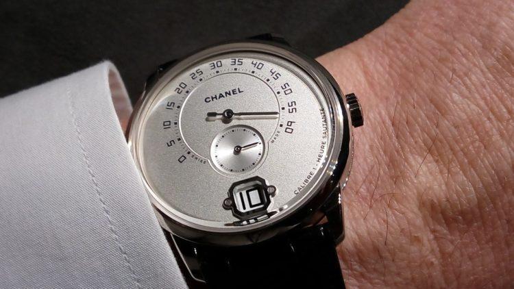 orologio Chanel Monsieur de Chanel oro bianco