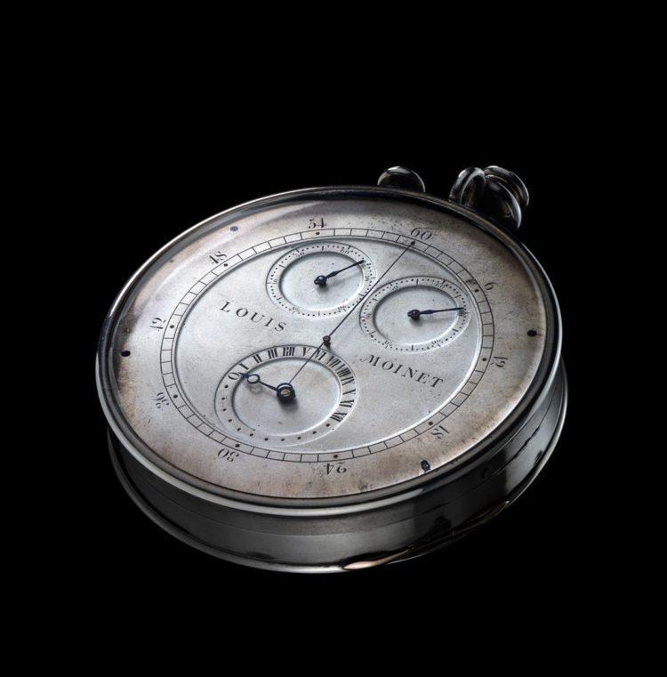 primo cronografo inventato da Louis Moinet