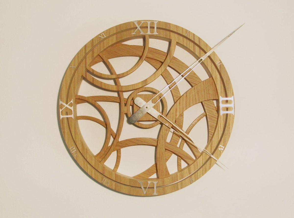 Arabesque orologio da parete diventa realt orologi di for Orologi da parete grandi dimensioni