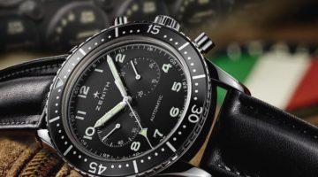 Zenith Presenta Heritage Cronografo Tipo CP-2 – Info e Prezzo