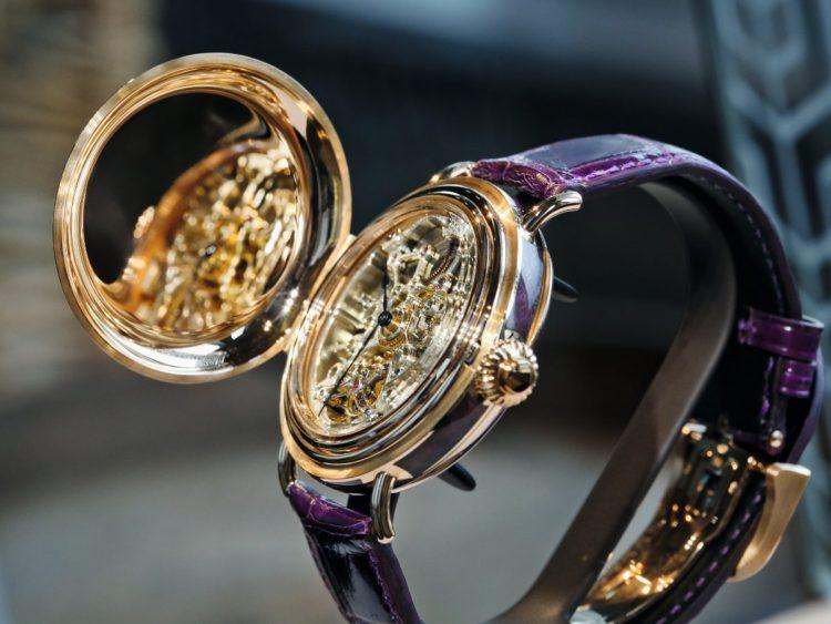orologio H. Moser & Cie. Heritage Tourbillon Skeleton