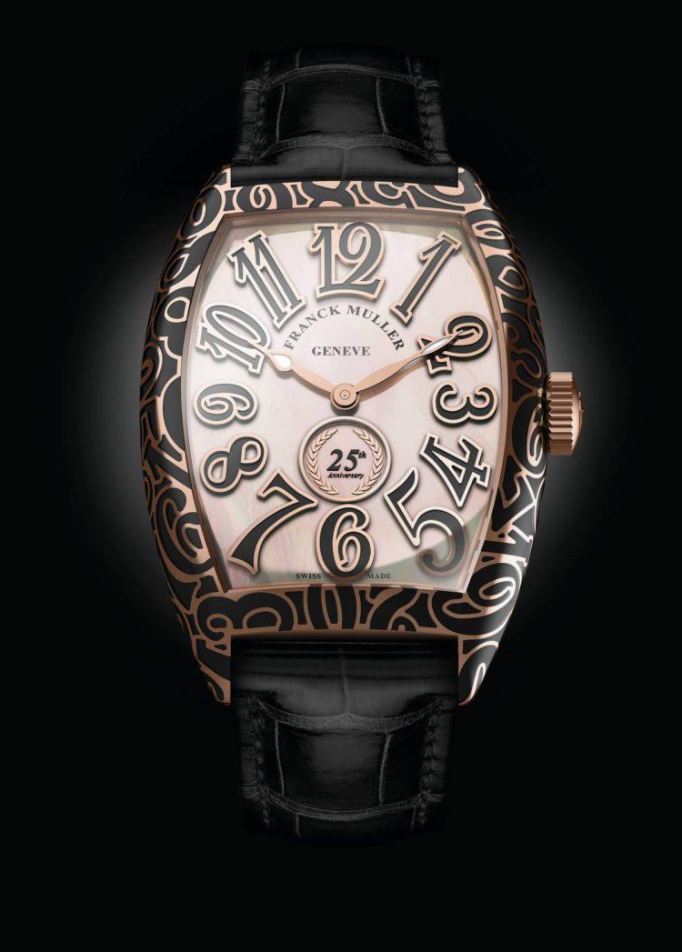 orologio Franck Muller Presenta Il Cintrée Curvex 25th Anniversary