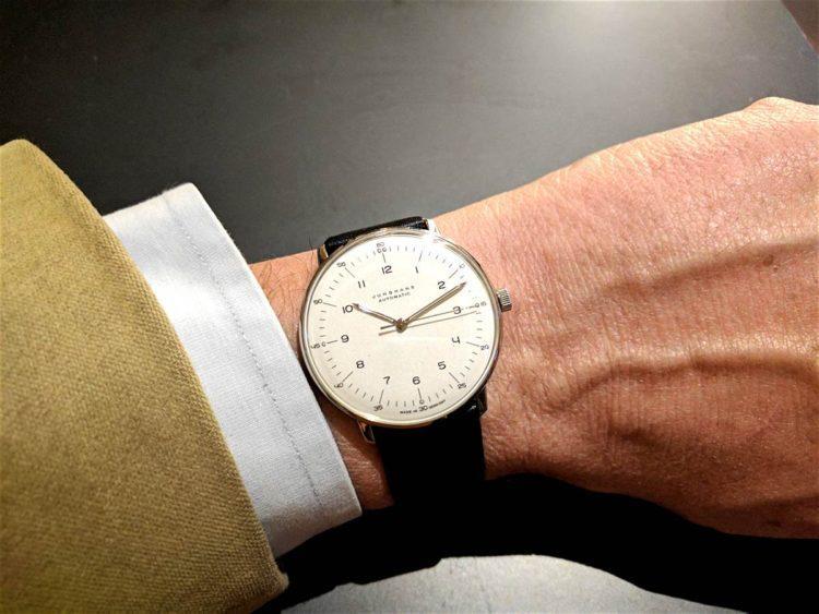 orologio di stile Junghans Max Bill