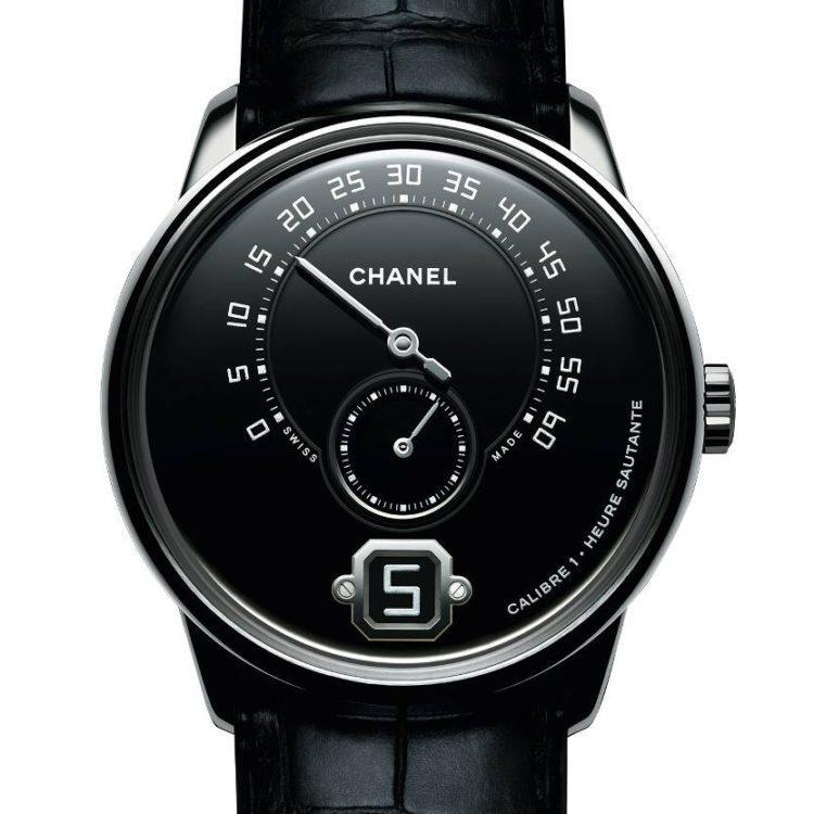 orologio Monsieur de Chanel Platino Grand Feu