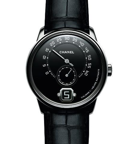 Orologio Chanel Monsieur de Chanel Platino #35451