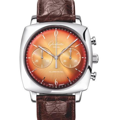 Orologio Glashütte Original Sixties Iconic Square Tangerine #35359