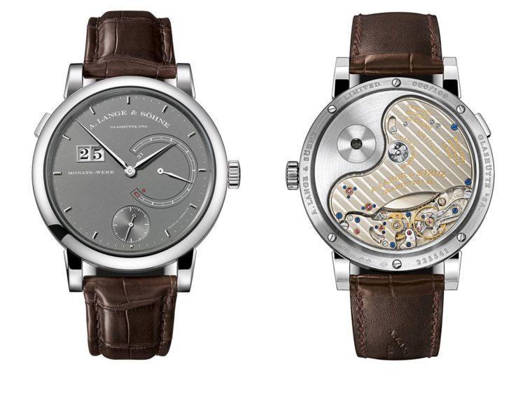 orologio Lange 31 2017 fonte e retro