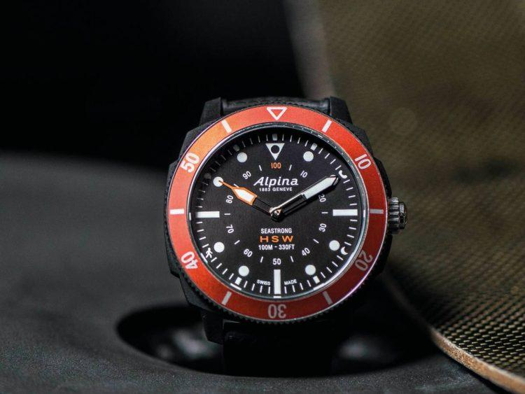 orologio Seastrong Horological Smartwatch rosso