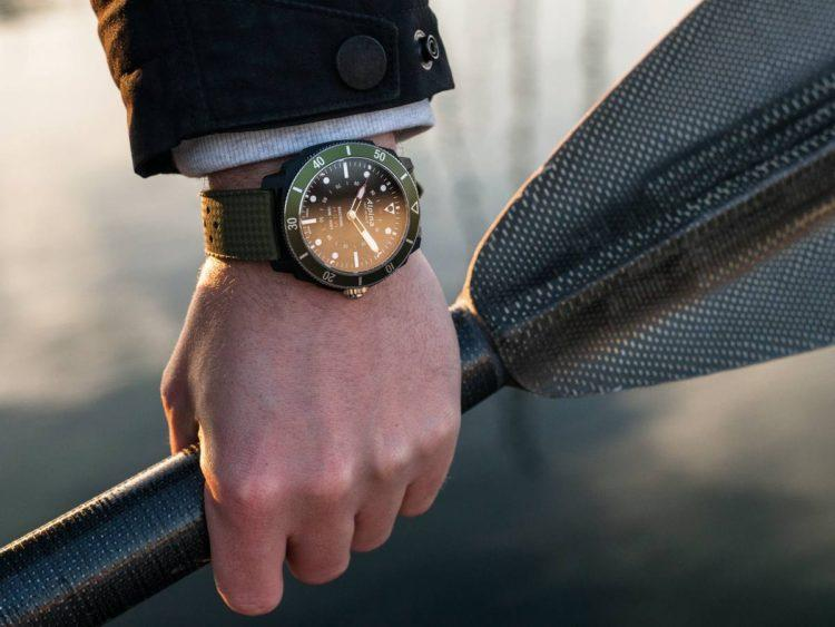 orologio Seastrong Horological Smartwatch verde
