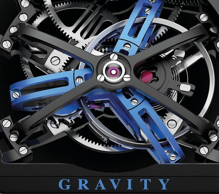 ponti Franck Muller Vanguard Gravity Skeleton