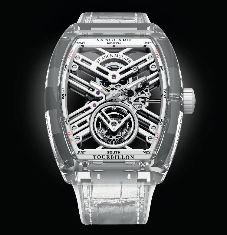 Orologio Vanguard Skeleton Sapphire Tourbillon