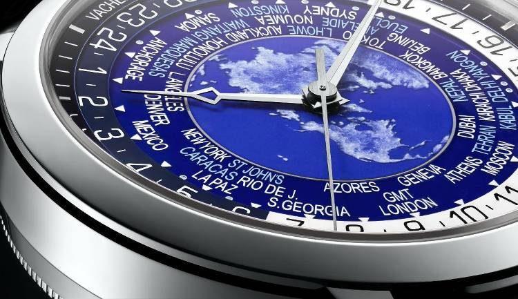 quadrante ore del mondo Vacheron Constantin