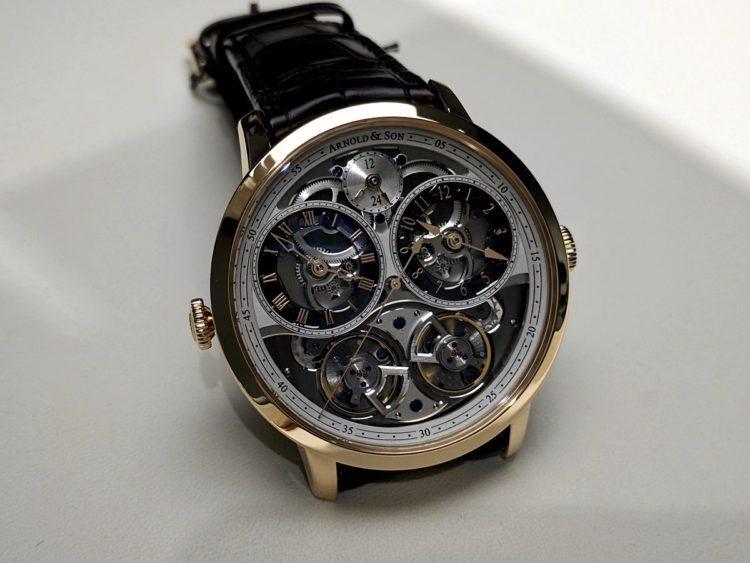 orologio Arnold & Son DBG Skeleton