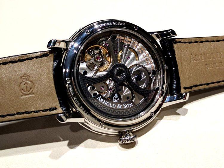 movimento orologio Arnold & Son DSTB