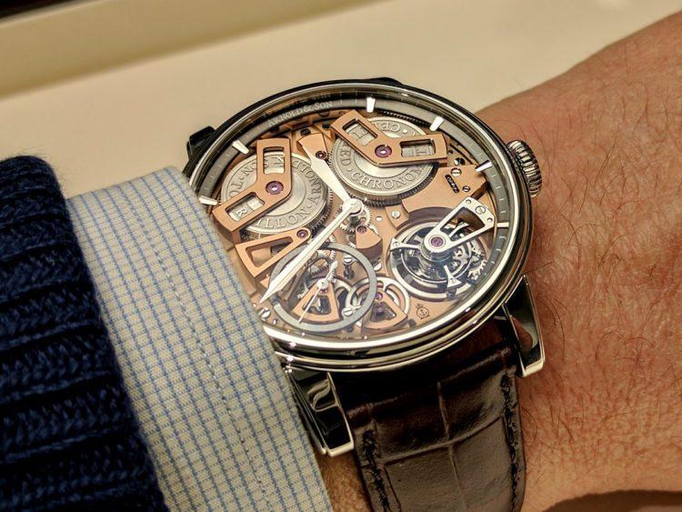 orologio Arnold & Son Tourbillon Chronometer No. 36