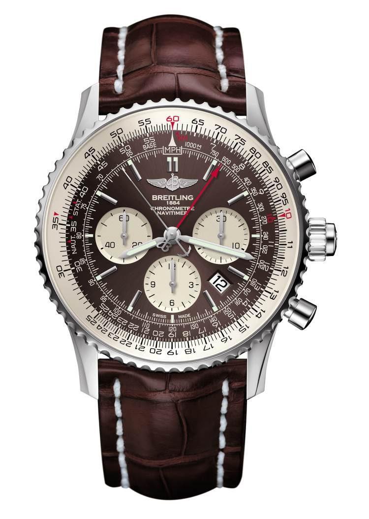orologio Breitling Navitimer Rattrapante acciaio