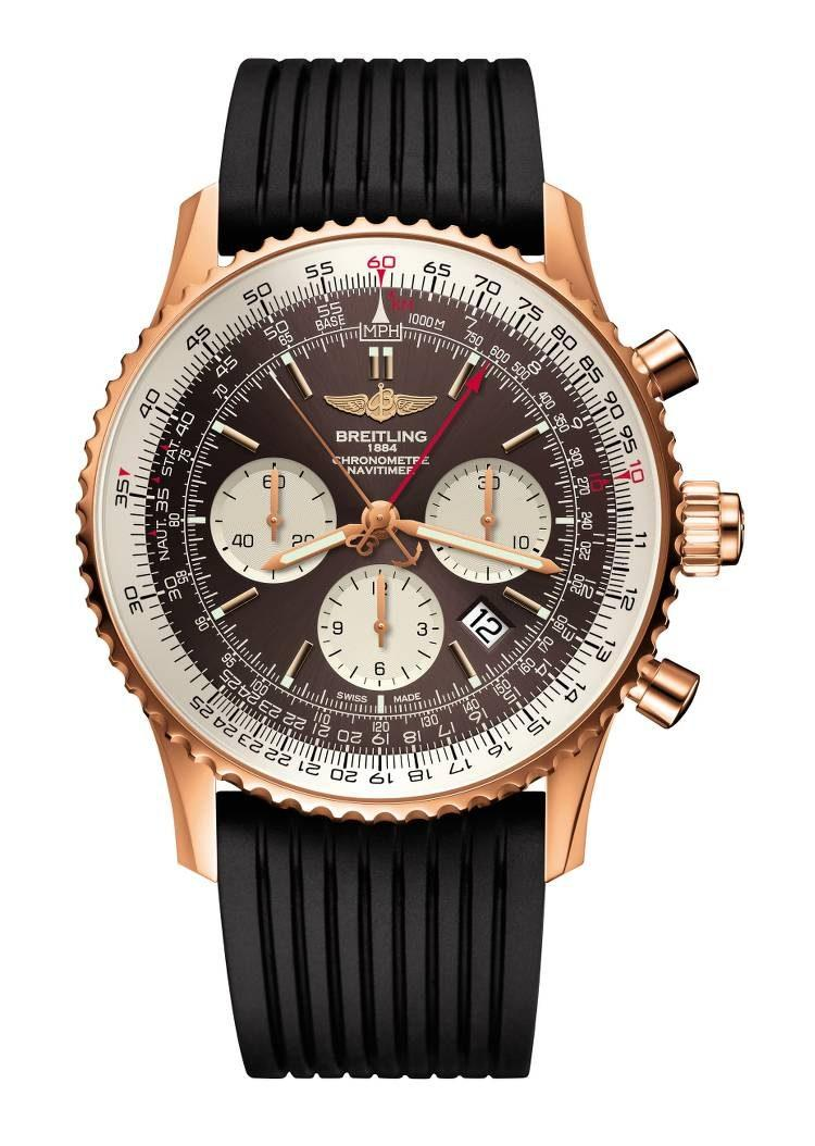 Breitling Navitimer Rattrapante oro rosso