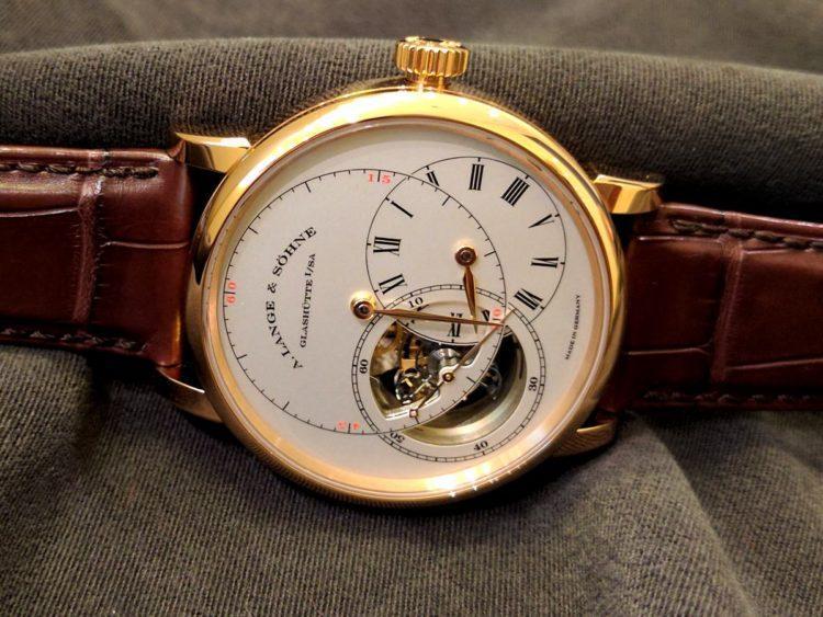 """orologio Richard Lange Tourbillon """"Pour le Mérite"""" lato"""
