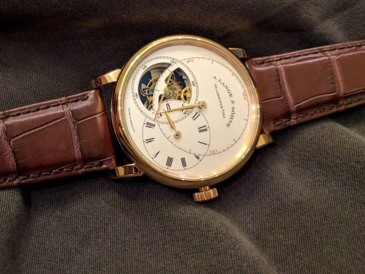 """orologio Richard Lange Tourbillon """"Pour le Mérite"""""""