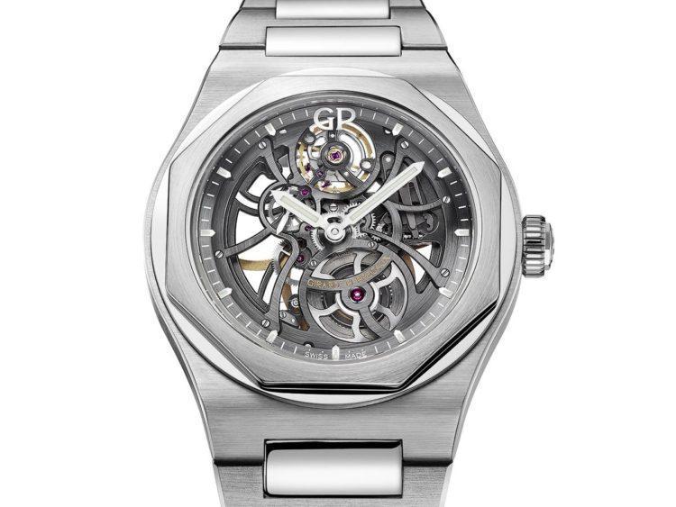 Girard-Perregaux Laureato Squelette 2017 acciaio