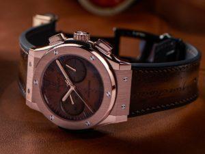 Hublot Classic Fusion Chronograph Berluti King Gold