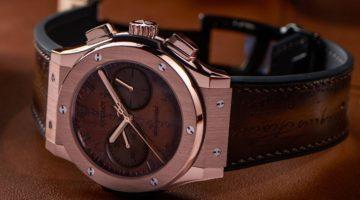 Hublot Presenta gli orologi Classic Fusion Chronograph Berluti