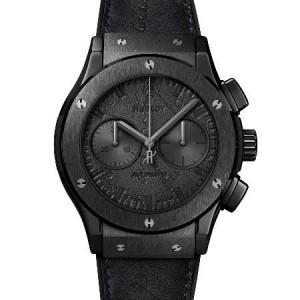 Immagine orologio Hublot modello Classic Fusion Chronograph Berluti All Black